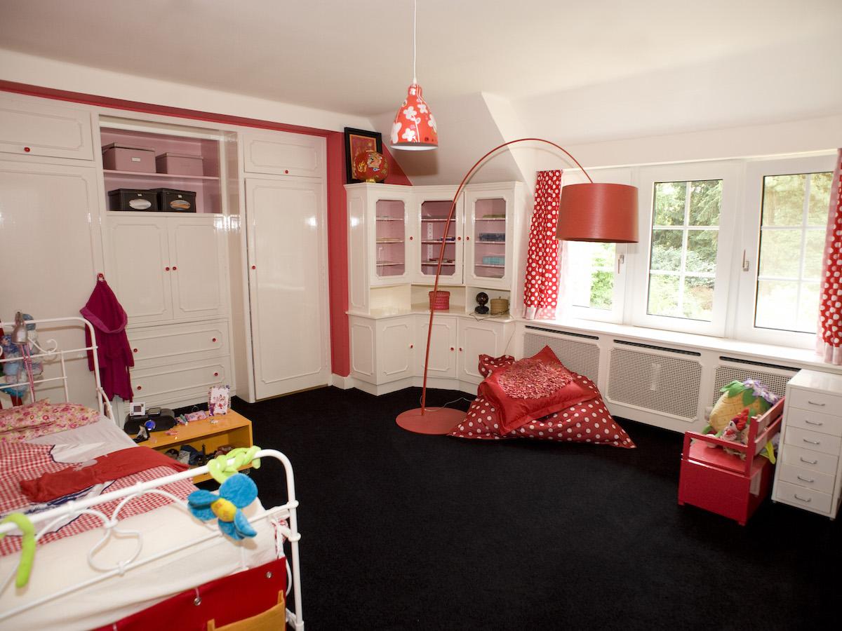 Landhuis Vught   Meisjes slaapkamer