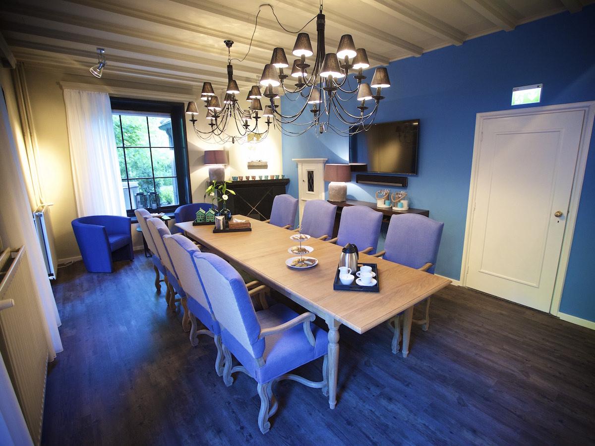 Het afscheidshuis | Huiskamer annex ontvangstruimte