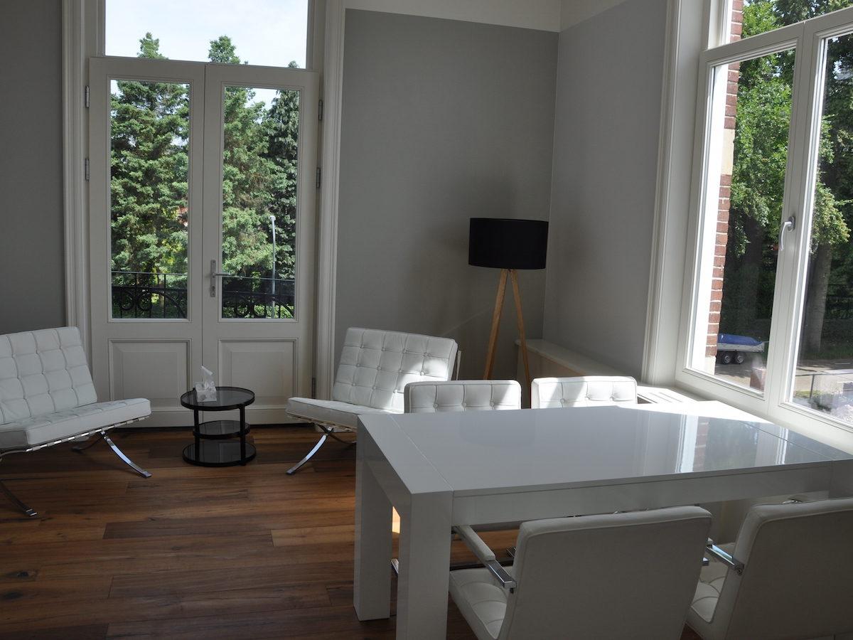 Villa Oldenburg | Witte kantoorruimte
